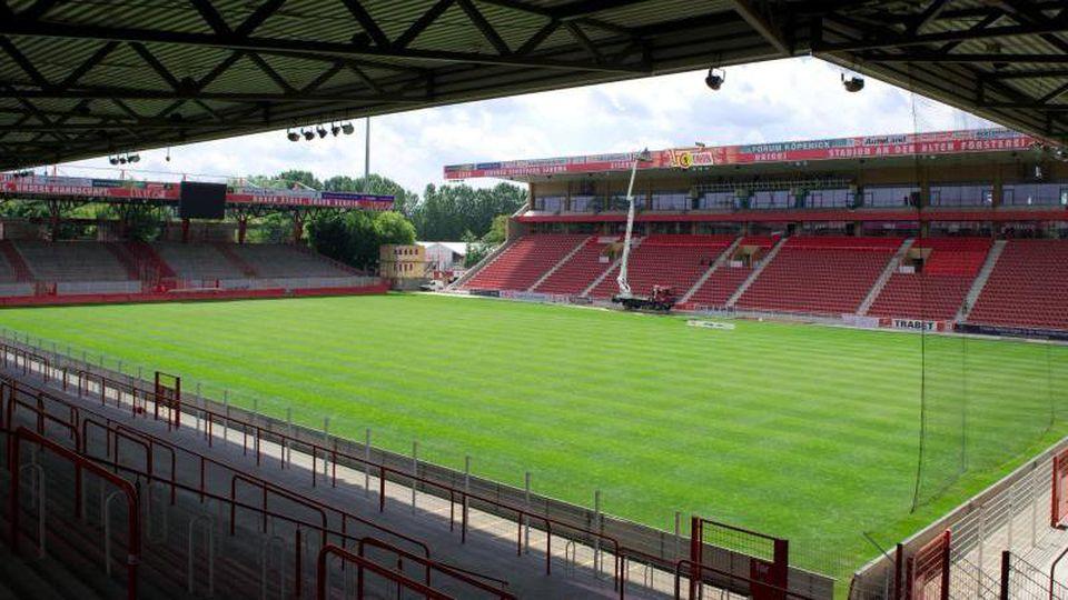 Das Stadion des 1. FC Union Berlin Alte Försterei. Foto: Soeren Stache/Archiv