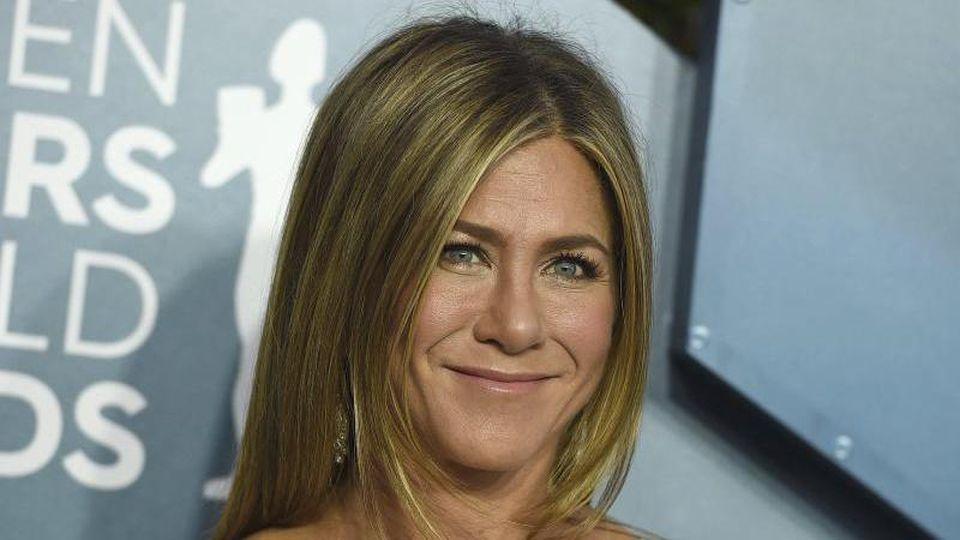 """Auf Jennifer Aniston müssen die Fans von """"Friends"""" noch ein wenig warten. Foto: Jordan Strauss/Invision/AP/dpa"""