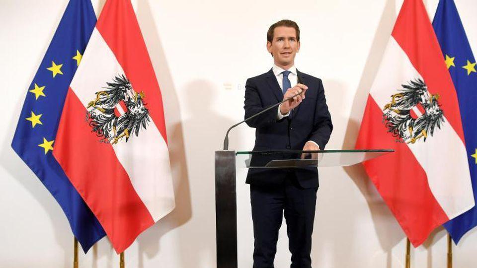 Sebastian Kurz, Bundeskanzler von Österreich. Foto: Roland Schlager/APA