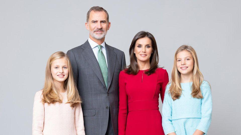 Das neue Porträt der spanischen Königsfamilie