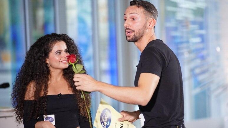 """Bei DSDS machte der Ex-""""Bachelorette""""-Kandidat seiner Bana einen Antrag."""