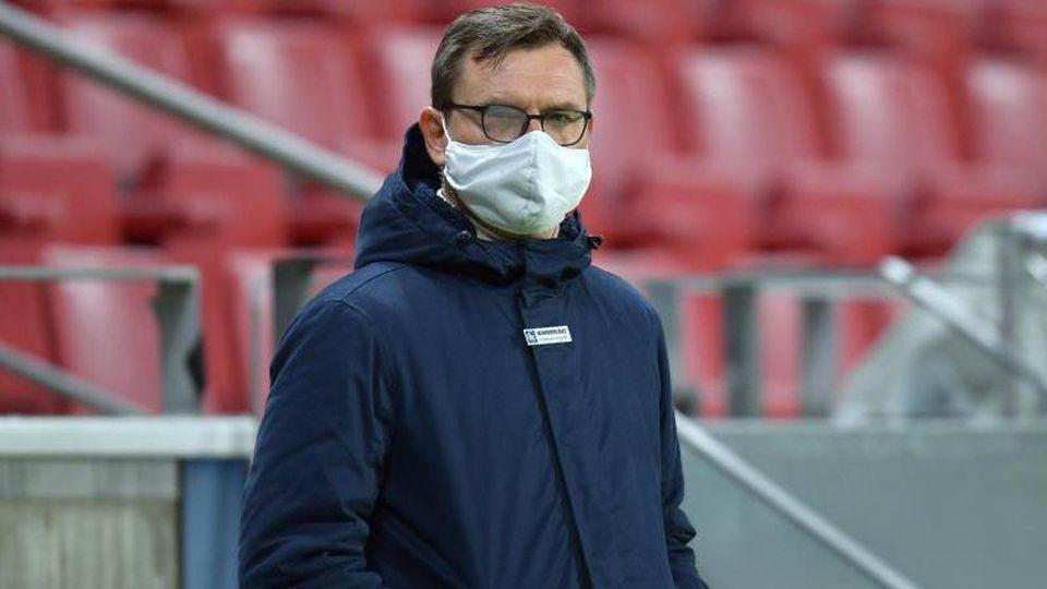 Stefan Hofmann, Vorstandschef des FSV Mainz 05, steht in der Opel Arena. Foto: Torsten Silz/dpa/Archivbild