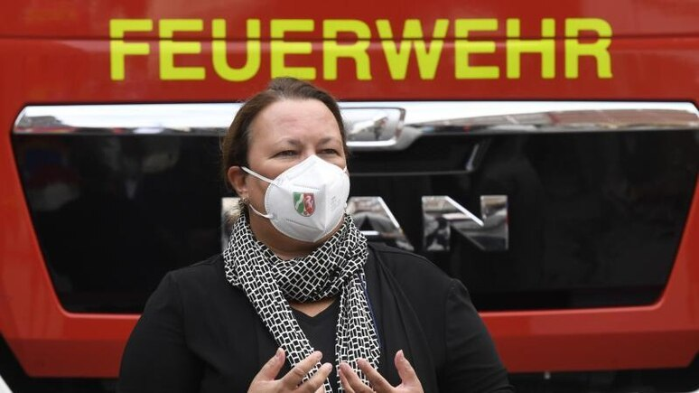 Die nordrhein-westfälische Umweltministerin Ursula Heinen-Esser. Foto: Roberto Pfeil/dpa
