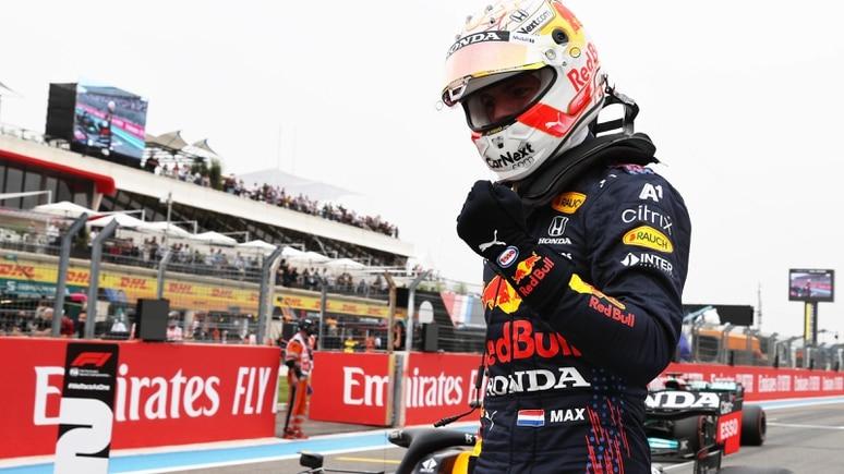 Max Verstappen raste in Frankreich zur fünften Pole Position seiner F1-Karriere