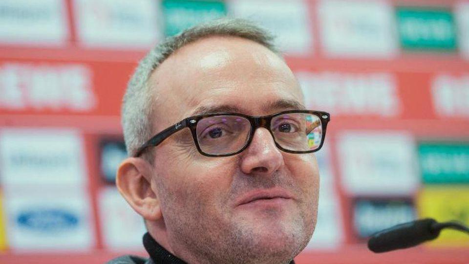 Alexander Wehrle, Geschäftsführer Sport beim 1.FC Köln. Foto: Rolf Vennenbernd/dpa/Archiv