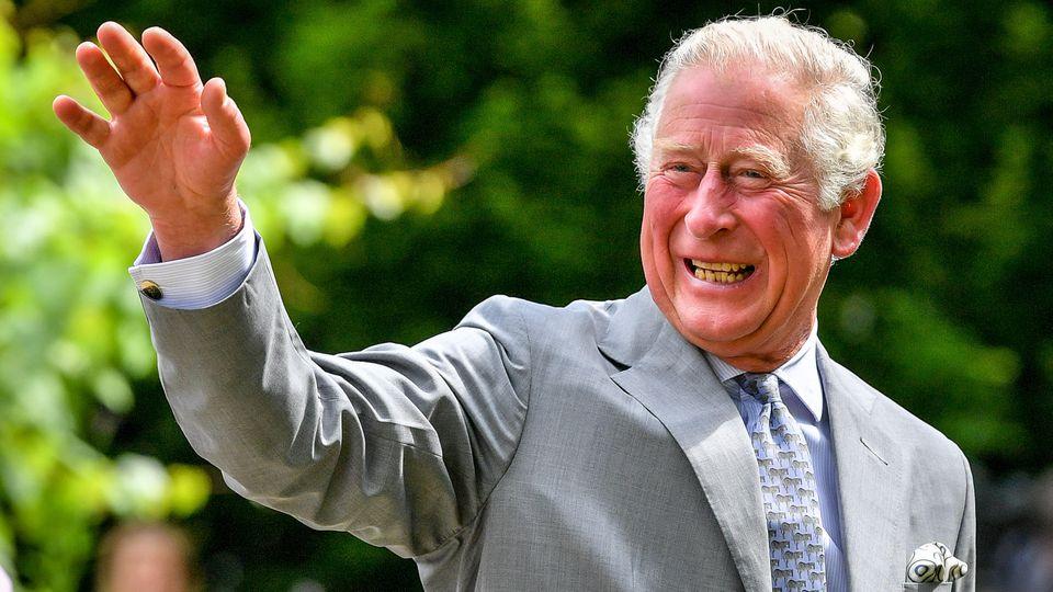 Auf einem Familienfoto zu Prinz Charles 70. Geburtstag wirken die Windsors glücklich. Doch dem war wohl nicht so ...