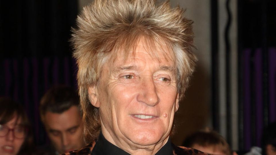 Rod Stewart  ist ein britischer Rock- und Pop-Sänger.