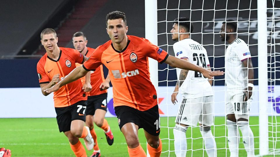 Shakhtar Donetsk - FC Basel Fußball UEFA Europa League Viertelfinale Shakhtar Donetsk - FC Basel am 11.08.2020 in der A
