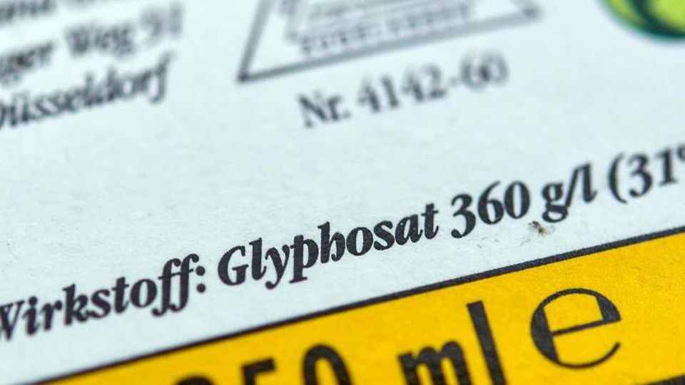Glyphosat ist noch bis Ende 2022 in der EU zugelassen. Foto: Patrick Pleul/zb/dpa