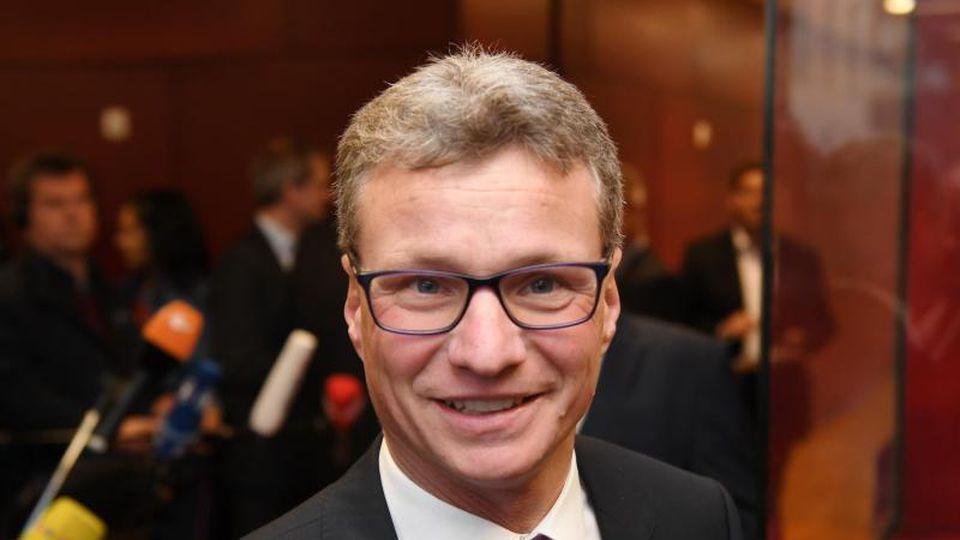 Bernd Sibler (CSU), bayrischer Wissenschaftsminister. Foto: Tobias Hase/Archivbild
