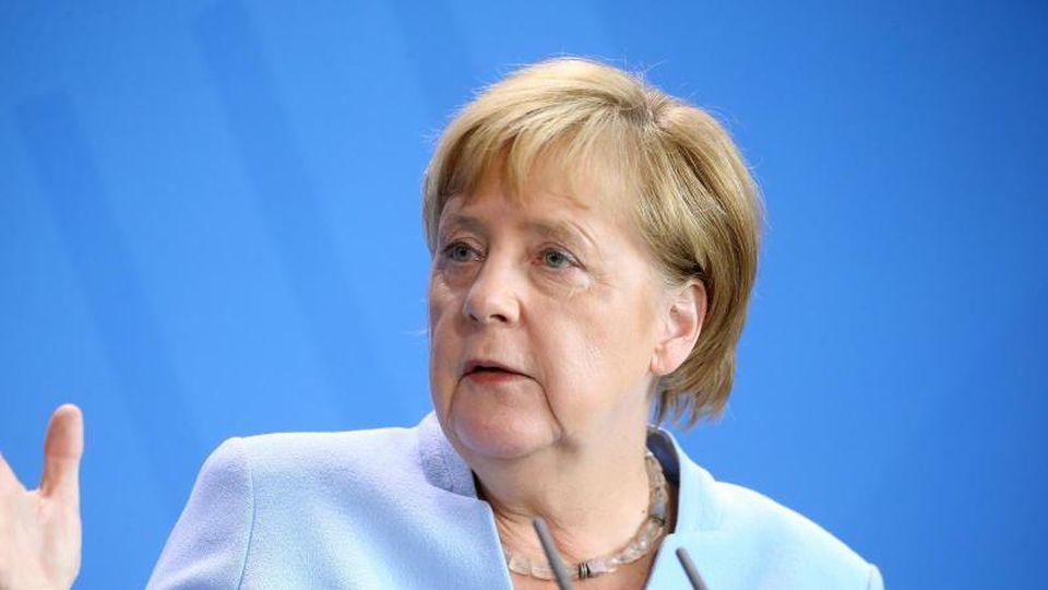Bundeskanzlerin Angela Merkel (CDU). Foto:Wolfgang Kumm
