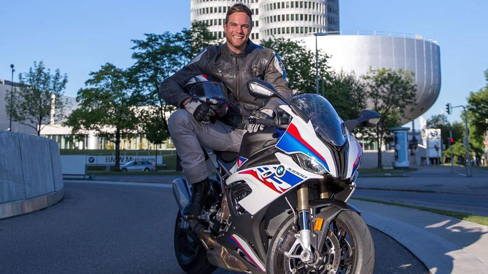Sebastian Preuss hatte sein Motorrad gerade erst zwei Wochen