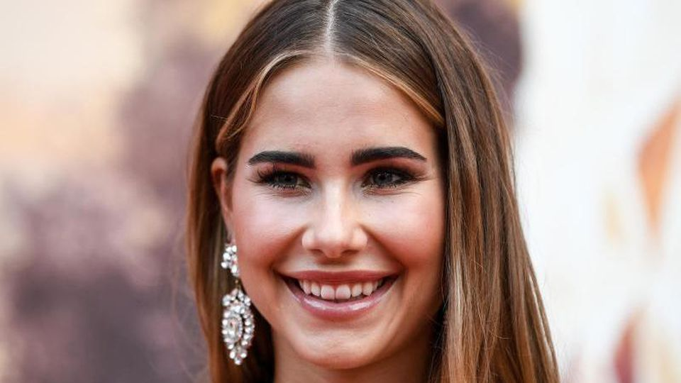 Miss Germany Anahita Rehbein im Europa-Park. Foto: Patrick Seeger/Archiv