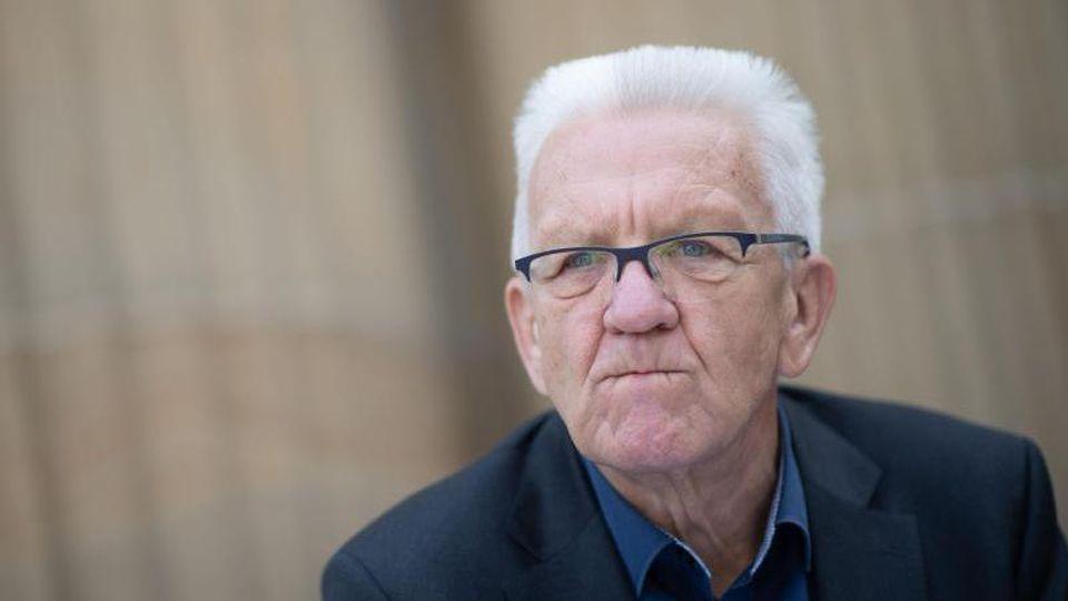 Winfried Kretschmann (Bündnis 90/Die Grünen), Ministerpräsident von Baden-Württemberg. Foto: Marijan Murat/dpa
