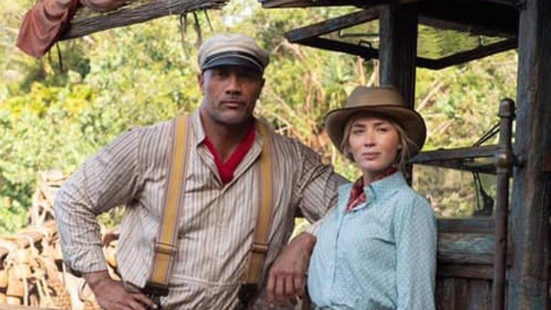 """Emily Blunt und Dwayne Johnson begeben sich in """"Jungle Cruise"""" auf eine abenteuerliche Kreuzfahrt über den Amazonas."""