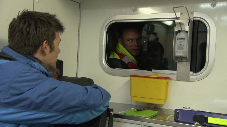 Maik Meuser begleitet Rettungskräfte in Dortmund