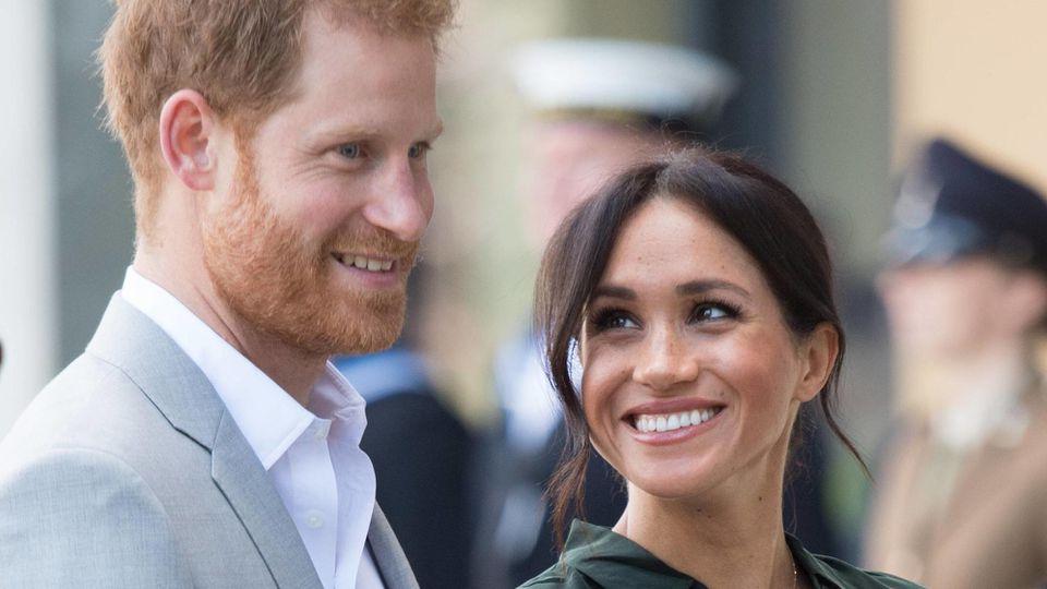 Prinz Harry und Herzogin Meghan genießen die gemeinsame Zeit mit Baby Archie.