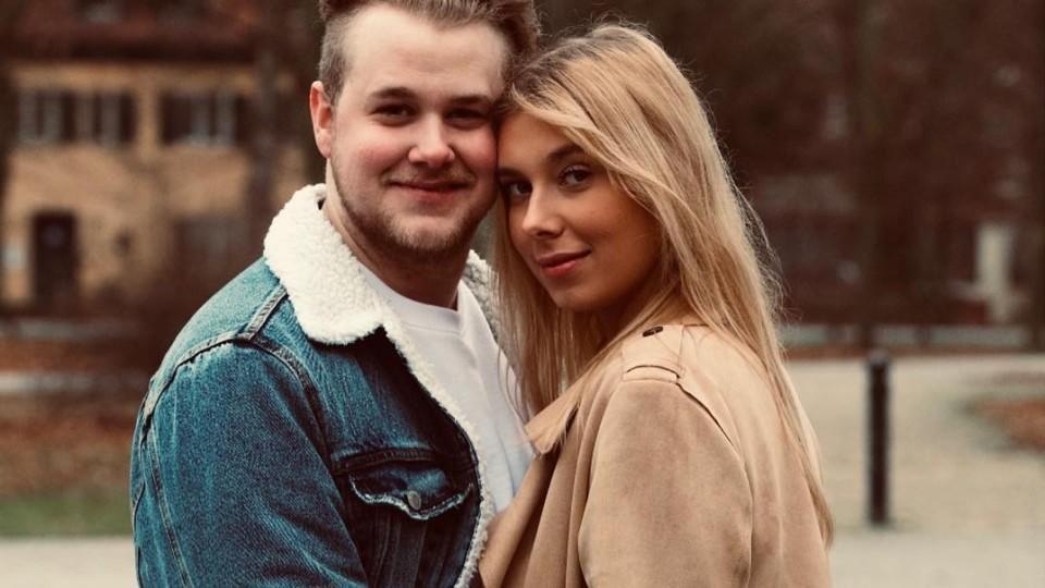 Felix van Deventer und seine Freundin Antje Zinnow erwarten ein Baby.