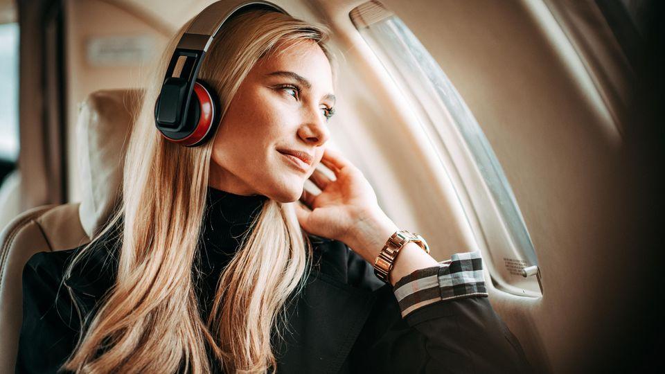 Beim Flug sollten Sie sich auf alles mögliche konzentrieren - nur nicht darauf zu frieren!