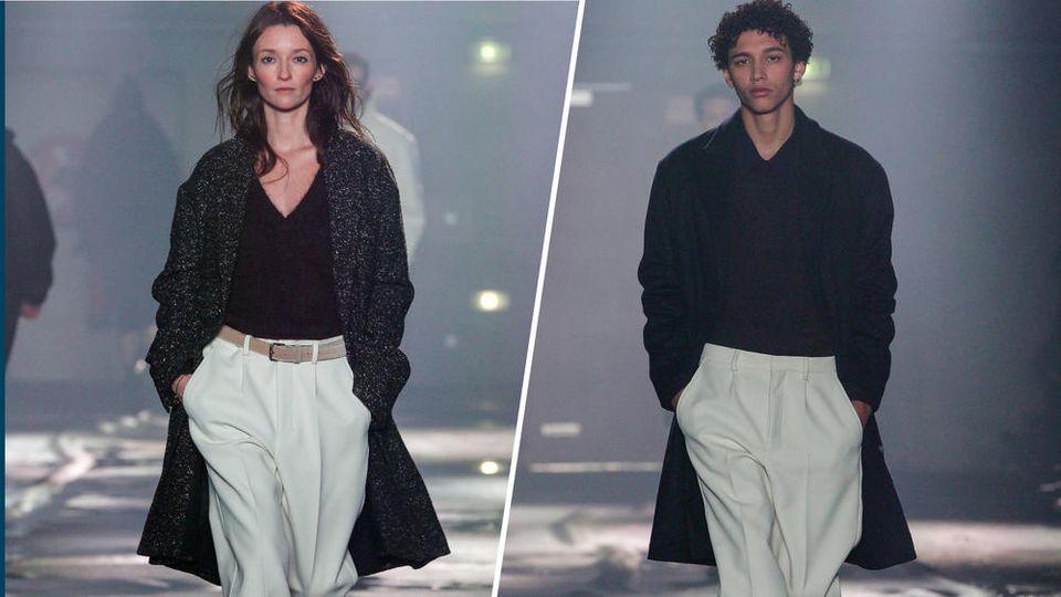 Auch das französische Label AMI definiert die internationale Unisex-Mode