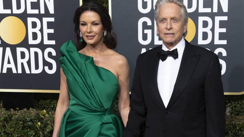 Michael Douglas mit Ehefrau Catherine Zeta-Jones