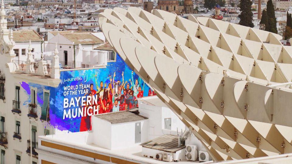 Bayern München gewann den Laureus World Sports Award zum zweiten Mal