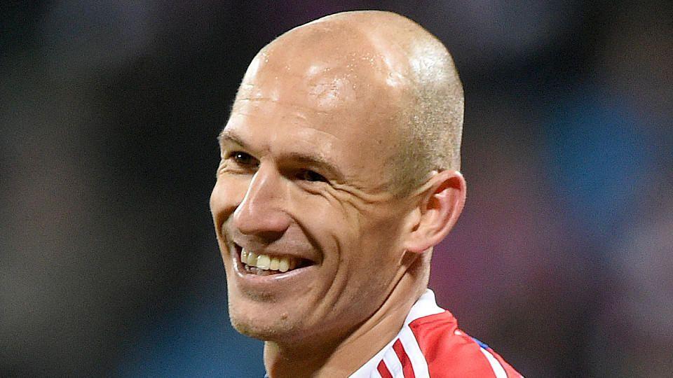 Arjen Robben war an seinem 31. Geburtstag in Spiellaune