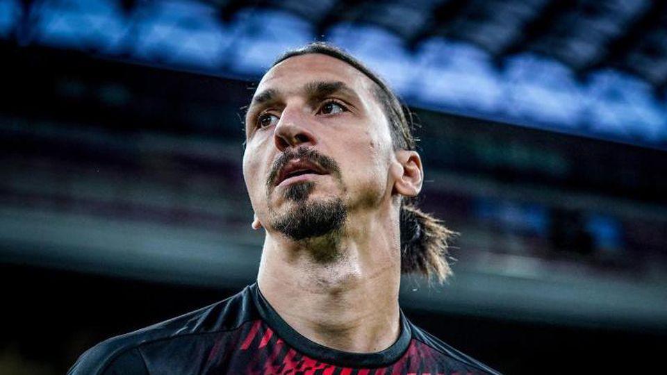 Der schwedische Stürmerstar Zlatan Ibrahimovic wurde positiv auf das Coronavirus getestet. Foto: Spada/Lapresse/Lapresse via ZUMA Press/dpa