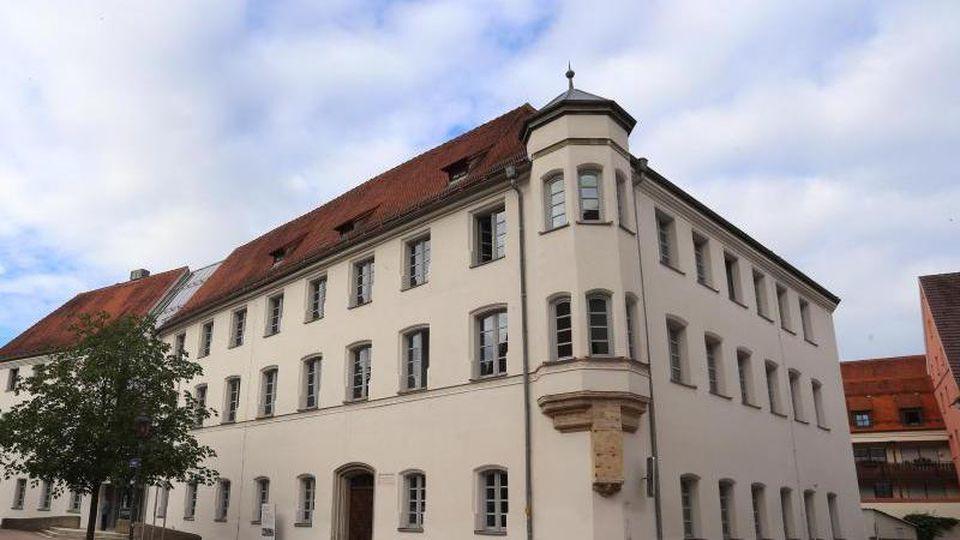 Das Memminger Landgericht. Foto: Karl-Josef Hildenbrand/Archivbild