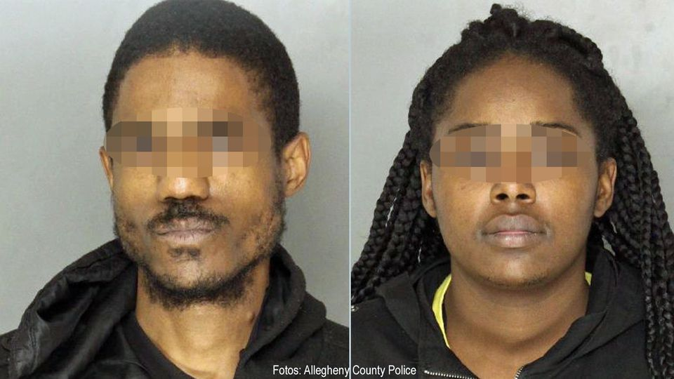 Dieses Paar aus dem US-Bundesstaat Pennsylvania soll seine Söhne gequält haben und wurde verhaftet.