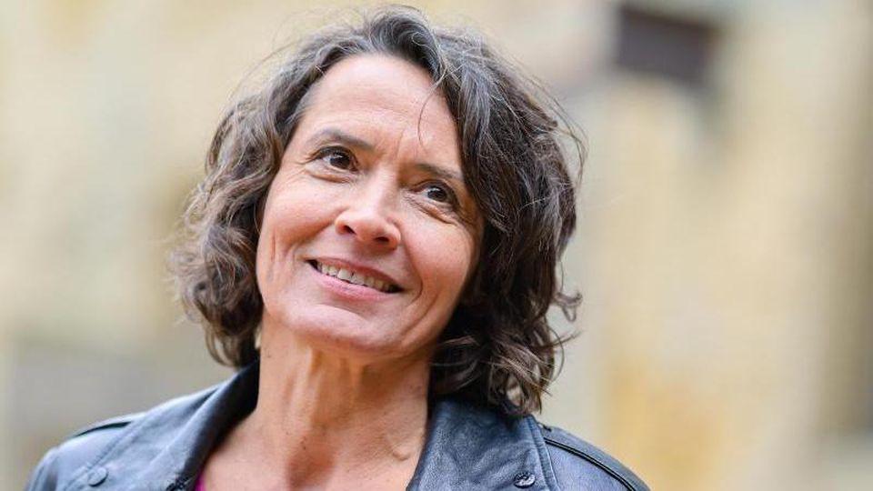 Die Schauspielerin Ulrike Folkerts hat die Corona-Zwangspause zu nutzen gewusst. Foto: Uwe Anspach/dpa
