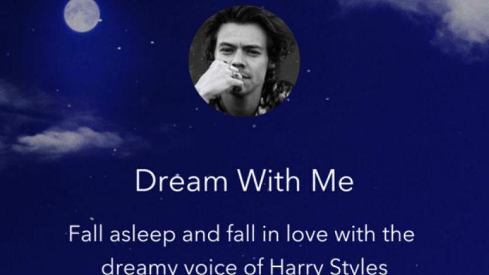 Harry Styles auf Calm