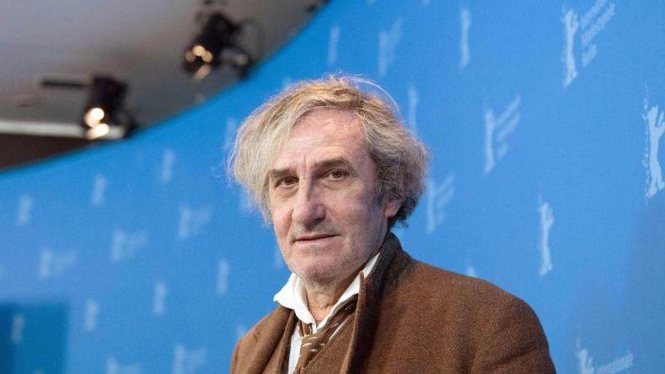 "Für ""Le sel des larmes"" erntet er wenig Applaus: Regisseur Philippe Garrel. Foto: Jörg Carstensen/dpa"