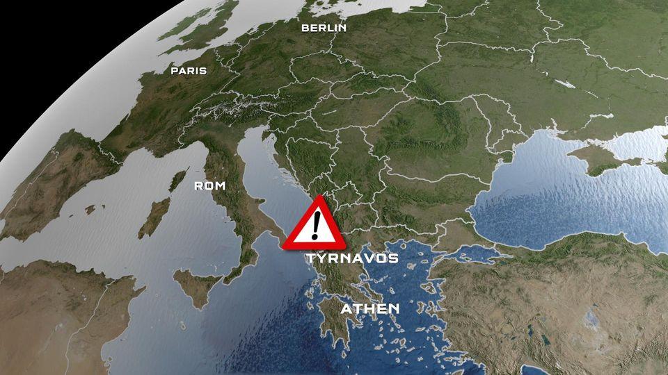 Am Mittwoch hat gegen 12:16 Uhr Ortszeit ein schweres Erdbeben den Norden Griechenlands erschüttert.