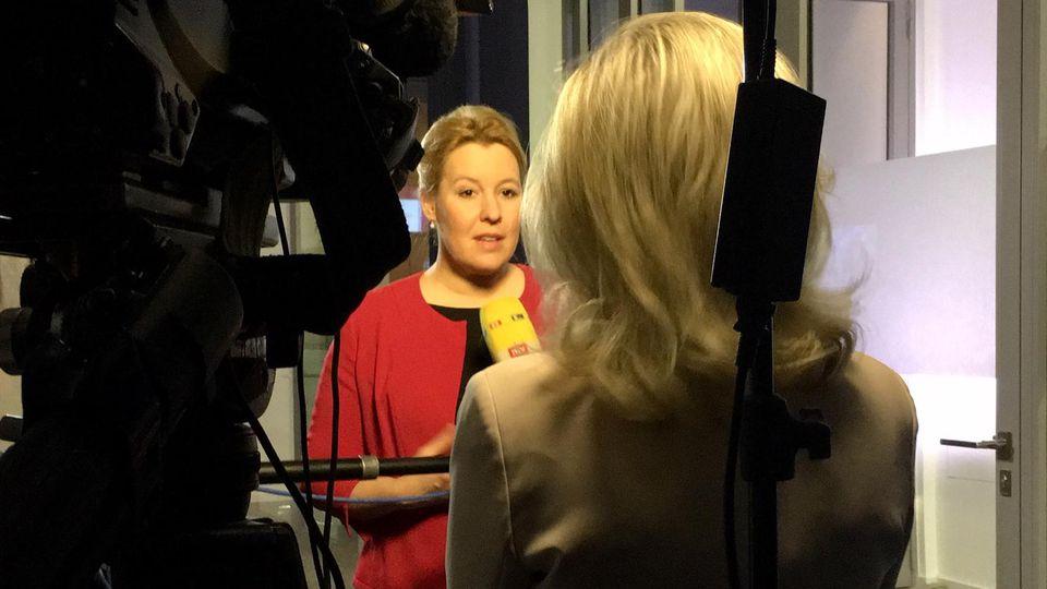 Interview mit Franziska Giffey