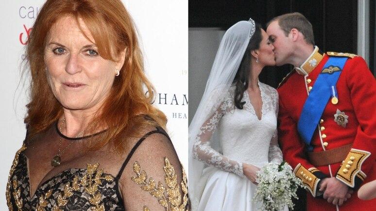 Sarah Ferguson war 2011 nicht auf der Hochzeit von Prinz William und Herzogin Kate eingeladen.