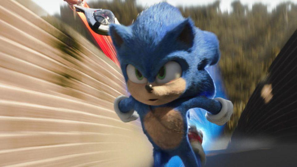 """In der deutschen Version von """"Sonic the Hedgehog"""" spricht Julien Bam die Titelfigur."""