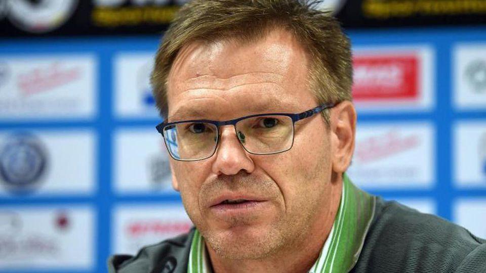 Uwe Hildrebrand (komissarischer Geschäftsführer). Foto: Hendrik Schmidt/zb/dpa/Archivbild