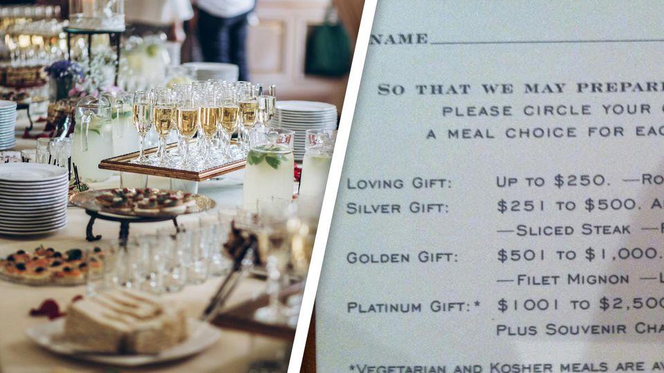 Diese Hochzeitseinladung empört das Netz