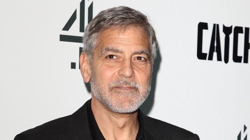George Clooney vergleicht Rassismus mit der Corona-Pandemie.