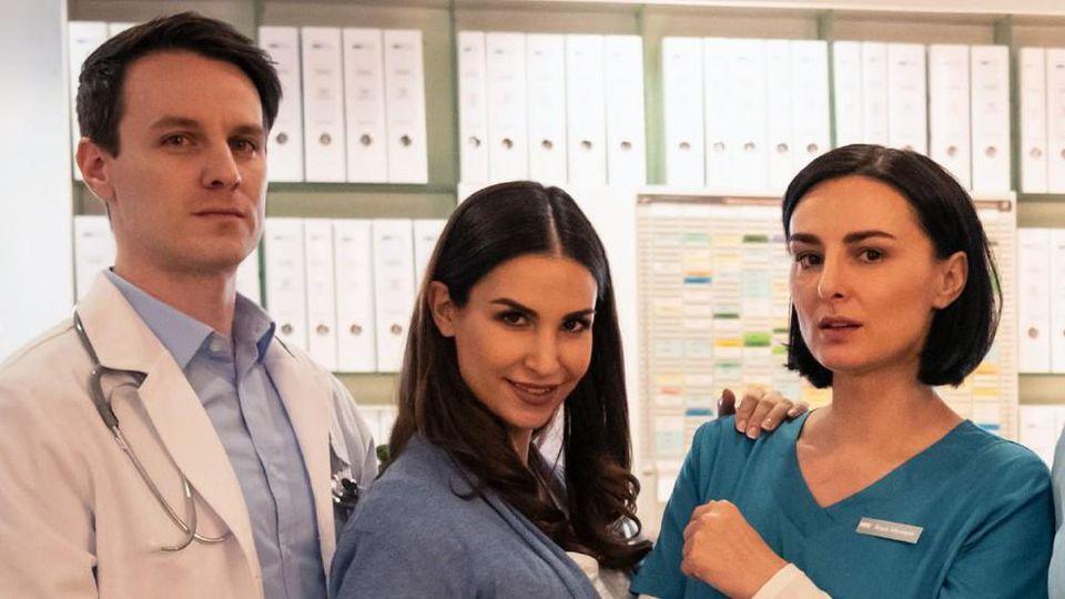 """Marc Dumitru spielt gemeinsam mit Sila Sahin und Mimi Fiedler bei """"Nachtschwestern"""""""