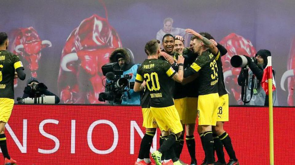 Dortmund gewinnt erstmals in Leipzig. Foto: Jan Woitas