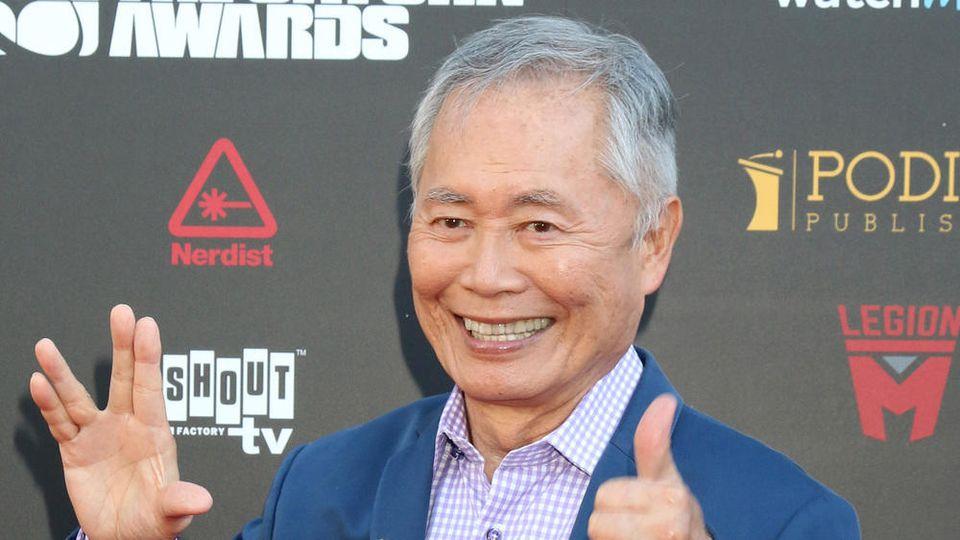 """George Takei ist vor allem für seine Darstellung des Lieutenant Hikaru Sulu aus der """"Star Trek""""-Fernsehserie und den nachfolgenden Kinofilmen bekannt"""
