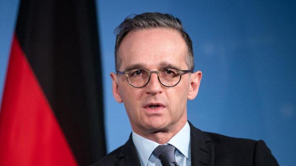 Heiko Maas (SPD), Außenminister. Foto: Bernd von Jutrczenka/dpa/archiv
