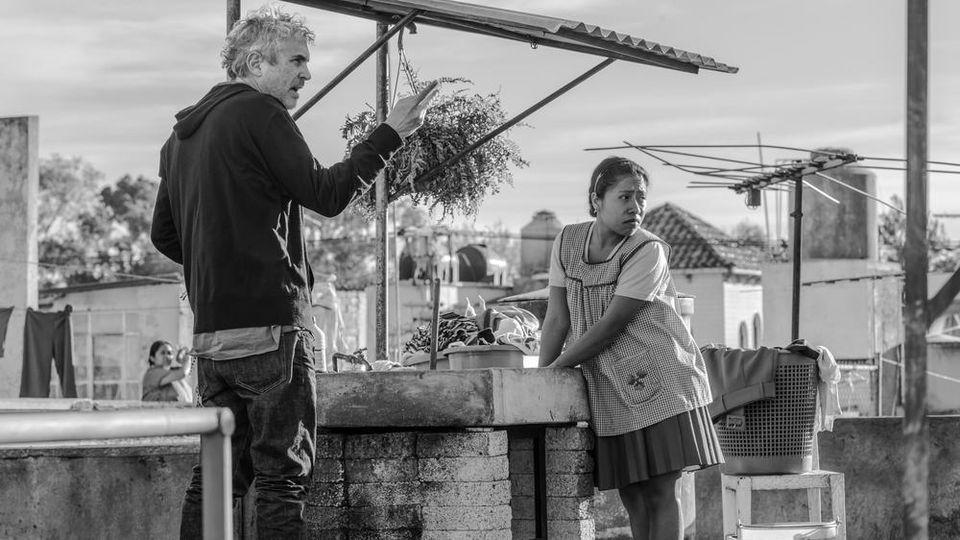 """Regisseur Alfonso Cuarón kann mit seinem Netflix-Film """"Roma"""" jede Menge Goldjungen abstauben"""