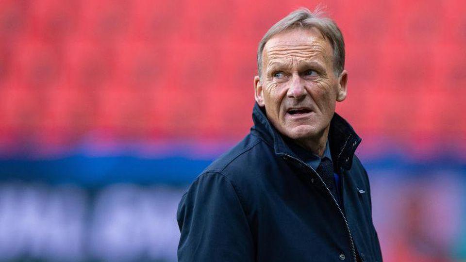 Dortmunds Geschäftsführer Hans-Joachim Watzke. Foto: Guido Kirchner/dpa