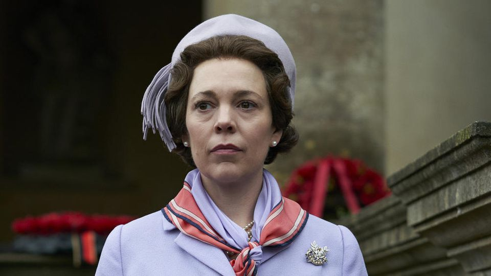 "Olivia Colman als Queen Elizabeth II. in Staffel drei von ""The Crown"""