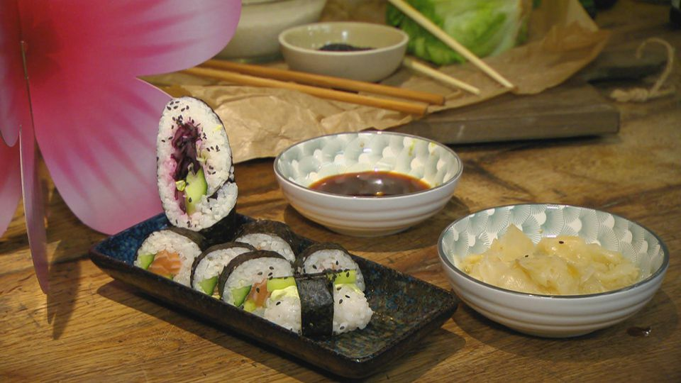 Mädelsabend – Girls just wanna have fun: Sushi-Variationen