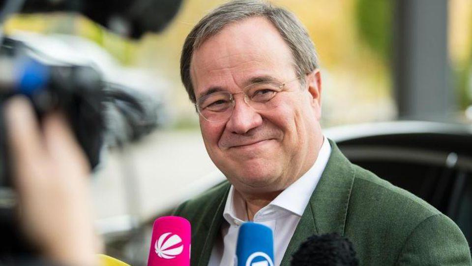 Armin Laschet (CDU), Ministerpräsident von Nordrhein-Westfalen. Foto: Matthias Balk/Archiv