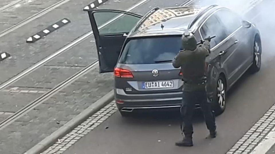 Rechtsextremist wollte Massaker in Synagoge in Halle anrichten
